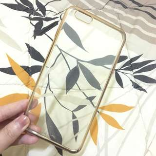 Gold case for Iphone 6S plus