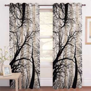 Nice and attractive digital printing curtain