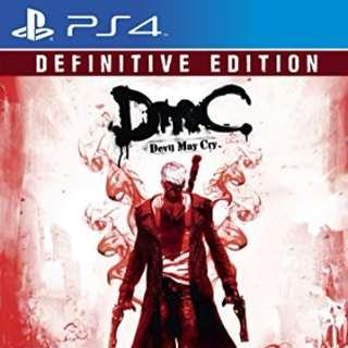 PS4 Devil May Cry Definitve Edition DIGITAL