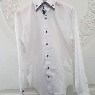 Zara man white shirt