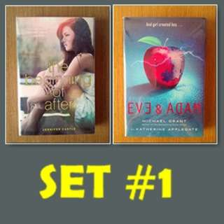 SET 1 (The Beginning of After, Eve and Adam)