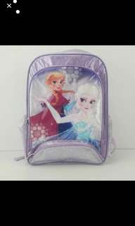 Instock Frozen Primary School bag ht 41 cm brand new authentic