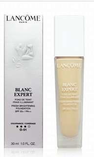 Lancôme blanc expert foundation