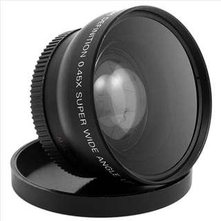 Wide lens and micro lens 52mm for Nikon D3100,D3200,D5200,D5100