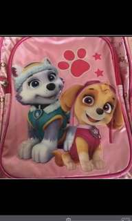 Instock authentic paw patrol bag ht 38cm brand new gd quality