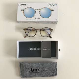 Brand New In Box - See Concept Glasses for Screen (not Hugo, Prada, ysl, Calvin Klein, rayban sunglasses)
