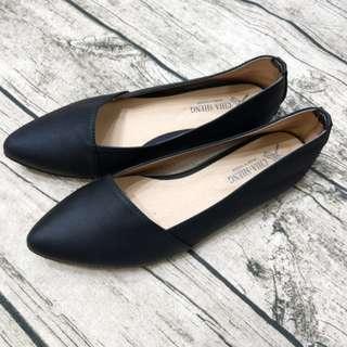 MIT 尖頭平底女鞋 OL上班鞋 娃娃鞋 台灣製