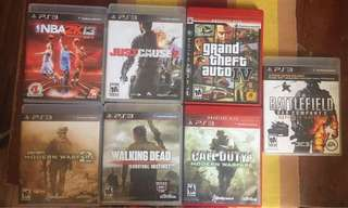 PS3 Preloved Good Condition Games