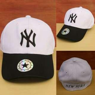 Topi Baseball NY White