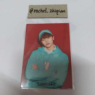 BTOB MOVIE JAPANESE VERSION SUNGJAE PHOTOCARD LIMITED EDITION