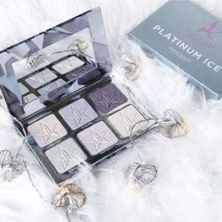 Authentic Jeffree Star Cosmetics Skin Frost Pro Platinum Ice Highlighter Palette ❄️