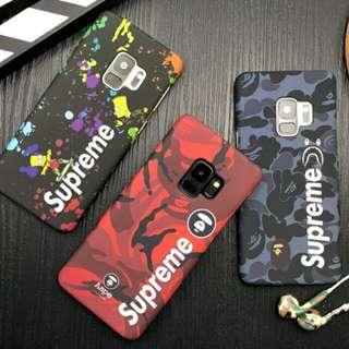 Supreme Glow In The Dark Samsung Phone S7-S9 Plus Casing