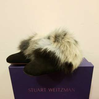Stuart Weitzman New size 8w Furgetit flat shoes
