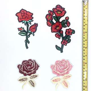 Iron On Patches ( 4pcs for RM10)