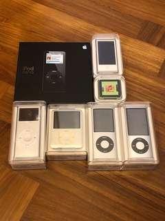 iPod Nano Family