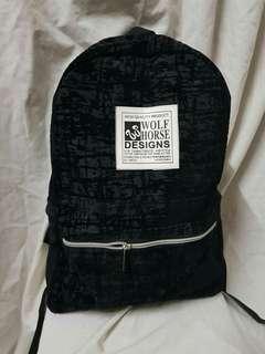 Horse wolf bagpack