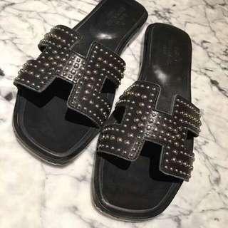 Hermès 平底涼鞋👡👡
