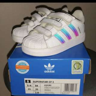 Authentic Adidas Superstar Holographic
