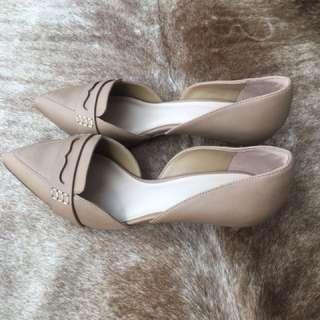 Beautiful brown ladies shoes