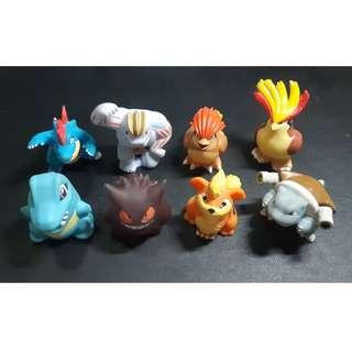 Pokemon Bandai Kids Figures (Finger Puppets)