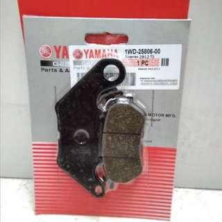 Yamaha R25 Brake pad rear