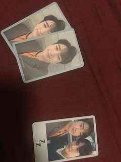 GOT7 photocard jinyoung jackson