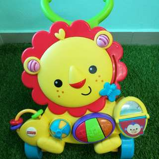 Fisher Price Lion walker