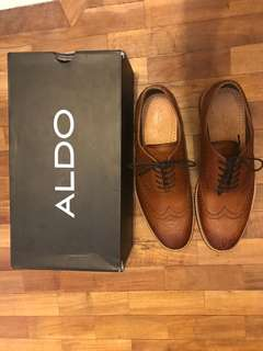Aldo Leather Oxford Shoes