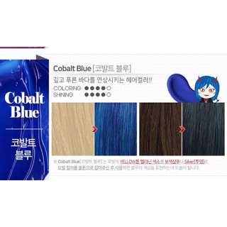 Moeta Blue Hair color