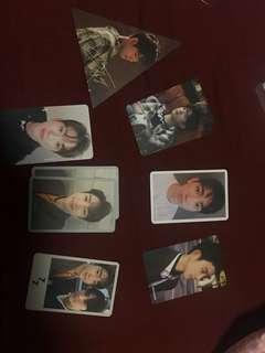GOT7 pc photocards jinyoung