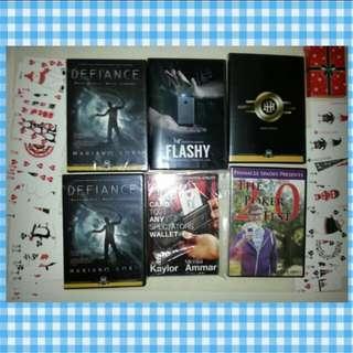 Magic Trick DVDs Sandsmind Murphy Magic Pinnacle Spades Mariano Goni