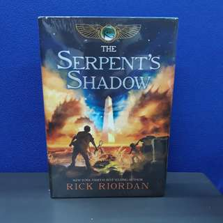 [HARDBOUND] The Kane Chronicles: The Serpent's Shadow