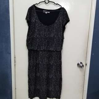 LOFT Black mix  Dress