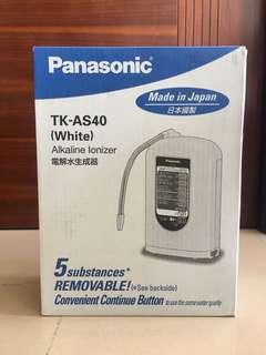 全新Panasonic 電解水機 (可過濾溶解性鉛) TK-AS40