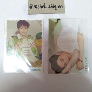 BTOB SUMMER MY GIRL JAPANESE EDITION SUNGJAE PHOTOCARD