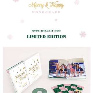 [PREORDER] Twice - Merry & Happy Monograph