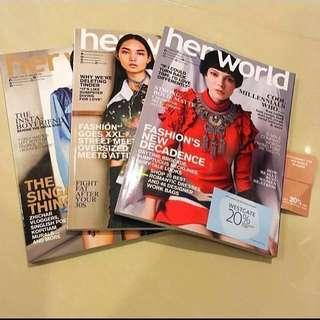 2018 Her World Magazine Issues
