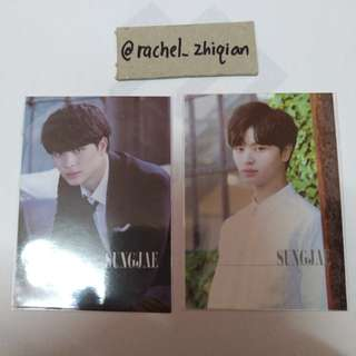 BTOB LUV JAPANESE EDITION SUNGJAE PHOTOCARD