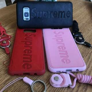 Supreme Leather Samsung Phone S7-S8 Plus Casing