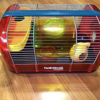 Habitrail Hamster Cage & accessories