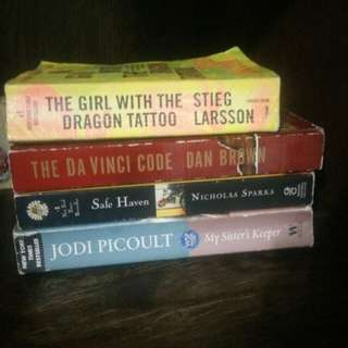 Book Bundle take all for 500