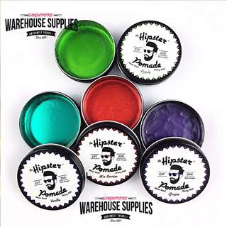 HIPSTER POMADE [ FREE STICKER/WRISTBAND]