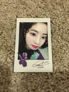 [WTT/WTS] Dahyun Twicetagram Photocard (Polaroid Ver.)