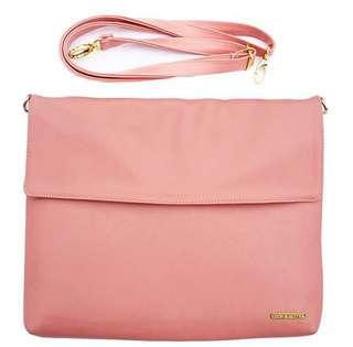Blush Pink Messenger Bag