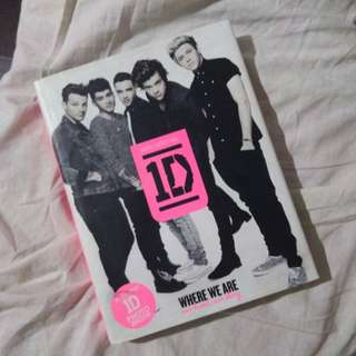 1D One Direction Where We Are HARDBOUND & Kiss You Official Poster w/freebies
