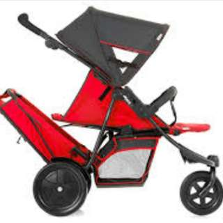 Tip top condition Hauck Freerider Tandem Stroller