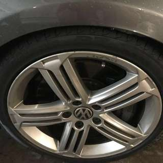 "18"" Pirelli Tyres (4 Tyres just changed on 19 Feb 2018)"