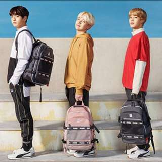 [Limited time PO] BTS x Puma backpack