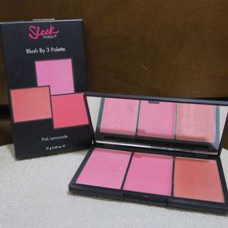 Sleek MakeUp Blush by Three Palette Pink Lemonade