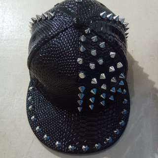 Studded Punk Hat A Grade top Quality
